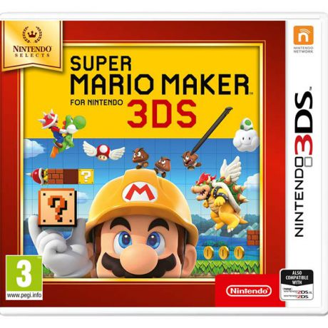 Видеоигра для Nintendo 3DS . Super Mario Maker N