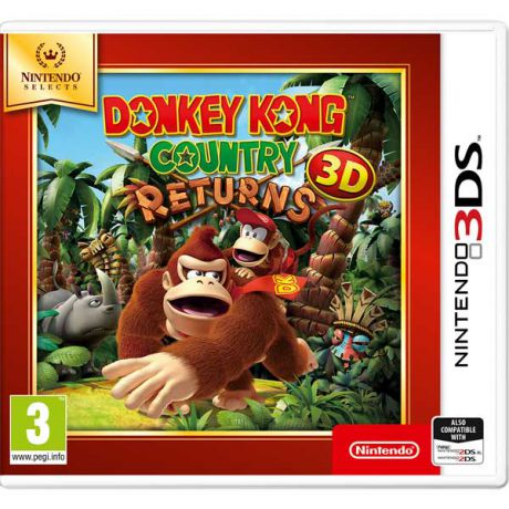Видеоигра для Nintendo 3DS . Donkey Kong Country Returns 3D N