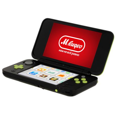 Игровая приставка Nintendo 3DS Nintendo 2DS XL Black x Lime Green + MK7
