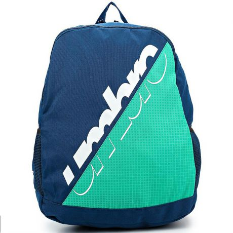 Рюкзак спортивный Umbro Veloce Dome 3 Pocket Backpack, 1 отделение, т.син/зел/бел.