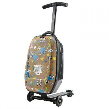 Самокат Micro Luggage Steve Aoki sound2go ML0007