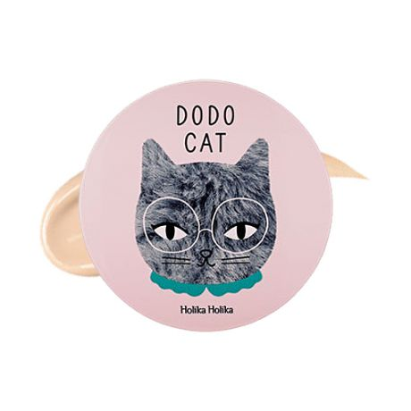 Авторский BB кушон Holika Holika Face 2 Change Dodo Cat Glow Cushion BB (Dodos Rest)