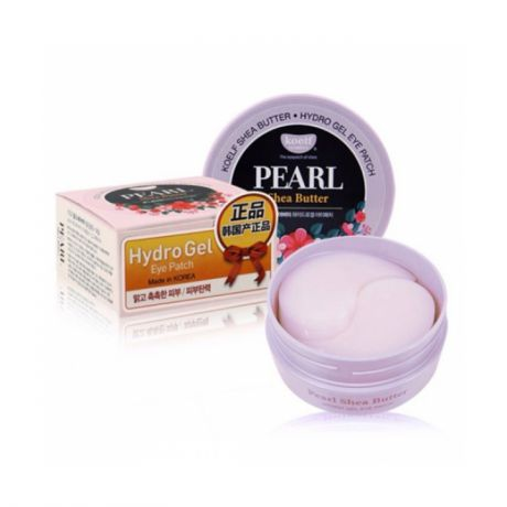 Гидрогелевые патчи для глаз Petitfee Koelf Pearl Shea Butter Hydro Gel Eye Patch