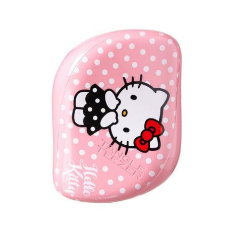 Детская миниатюрная расческа в стиле Hello Kitty Tangle Teezer Tangle Teezer Compact Styler Hello Kitty Pink
