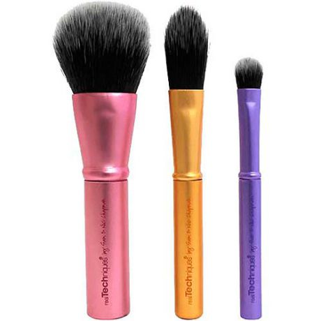 Дорожный набор кистей Real Techniques Real Techniques Mini Brush Trio