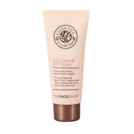 BB крем для жирной кожи The Face Shop Clean Face Oil Control BB Cream