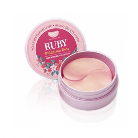 Гидрогелевые патчи Petitfee Koelf Ruby Bulgarian Rose Hydro Gel Eye Patch