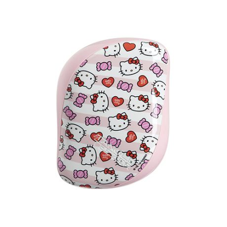 Расческа для волос с Hello Kitty Tangle Teezer Tangle Teezer Compact Styler Hello Kitty Candy Stripes