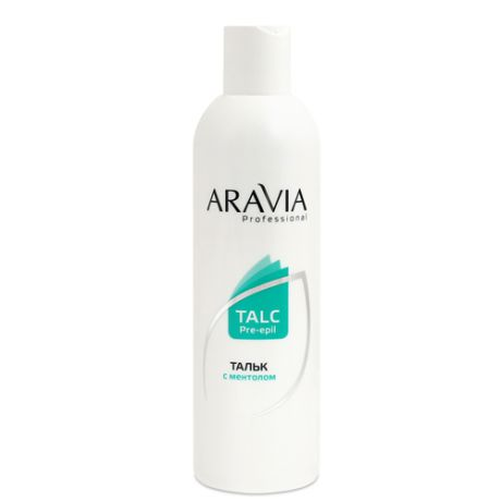Тальк с ментолом 180 гр (Aravia professional, SPA шугаринг)