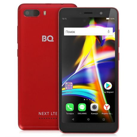Смартфон BQ-5508L Next LTE red, красный