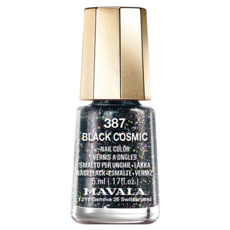 Mavala Mini Color Лак для ногтей 387 Black Cosmic
