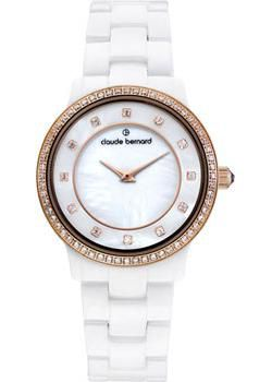 Claude Bernard Часы Claude Bernard 20203-BRB. Коллекция Dress code Ceramic with stones