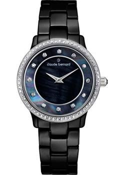 Claude Bernard Часы Claude Bernard 20203-NAN. Коллекция Dress code Ceramic with stones