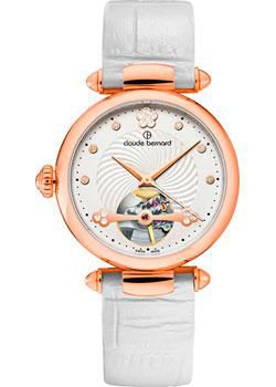 Claude Bernard Часы Claude Bernard 85022-37RAPR. Коллекция Dress Code Automatic Open Heart