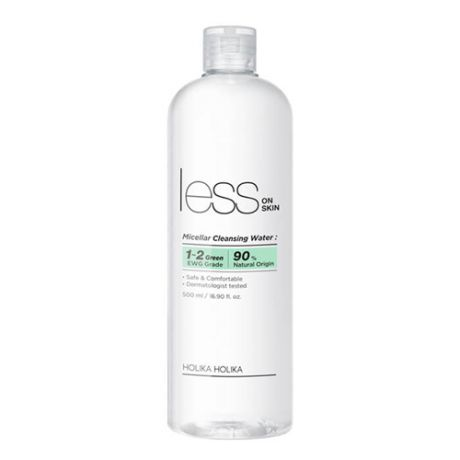 Мицеллярная вода Holika Holika Less On Skin Micellar Cleansing Water