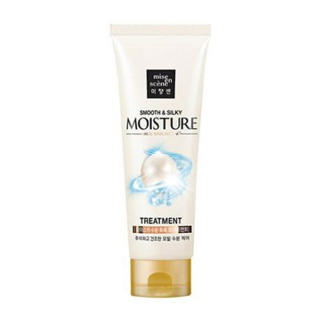 Увлажняющая маска для волос Mise En Scene Pearl Smooth and Silky Moisture Treatment