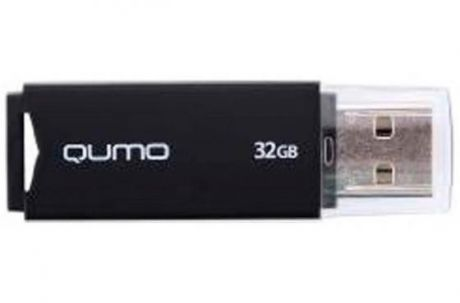 Флешка USB 32Gb QUMO Tropic USB2.0 черный QM32GUD-TRP-Black
