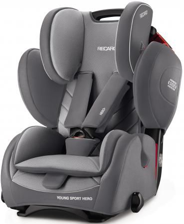 Автокресло Recaro Young Sport Hero (aluminum grey)