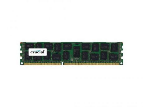Оперативная память 8Gb (1x8Gb) PC3-12800 1600MHz DDR3 DIMM ECC Registered CL11 Crucial CT8G3ERSLD8160B