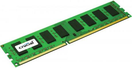 Оперативная память для ноутбука 8Gb (1x8Gb) PC3-12800 1600MHz DDR3 DIMM ECC Registered CL11 Crucial CT8G3ERSLS4160B