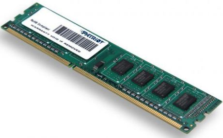 Оперативная память 4Gb (1x4Gb) PC3-10600 1333MHz DDR3 DIMM CL9 Patriot PSD34G13332