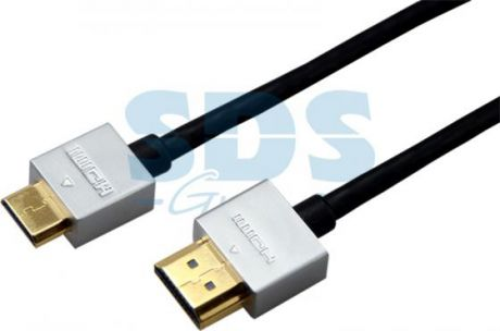 Шнур HDMI - mini HDMI gold 1.5М Ultra Slim (блистер) REXANT
