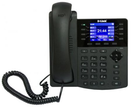 Телефон ip D-Link VoIP Phone with PoE support (colour display)