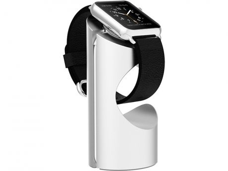 Подставка Just Mobile TimeStand ST-180SI для Apple Watch алюминий серебристый