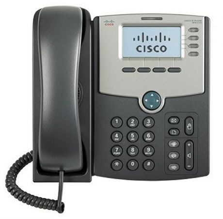 Телефон IP Cisco SPA514G-XU 4 линии, IP телефон, дисплей, PoE, Gigabit LAN