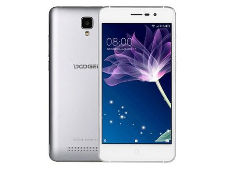 Смартфон Doogee X10s (Galaxy Grey) MediaTek MT6570 (1.3) / 1GB / 8GB / 5