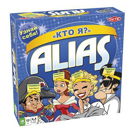 "Tactic Games Настольная игра Alias ""Кто Я?"" Tactic Games"