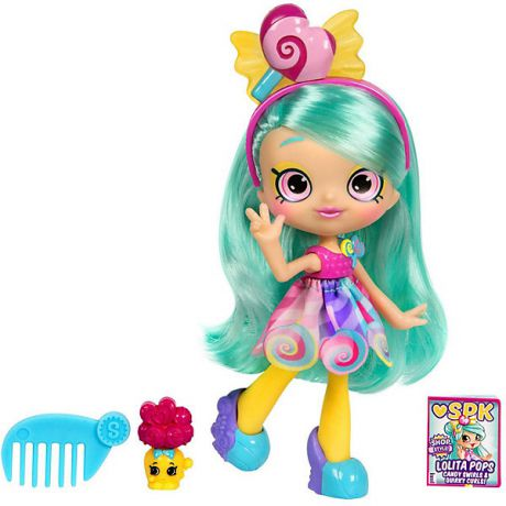 "Moose Мини-кукла Moose ""Shopkins Shoppies"" Лолита Попс, 14 см"