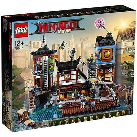 LEGO Конструктор LEGO Ninjago Movie 70657: Порт Ниндзяго Сити