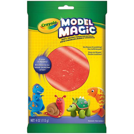 Crayola Застывающий пластилин Crayola Model Magic, красный 113 гр