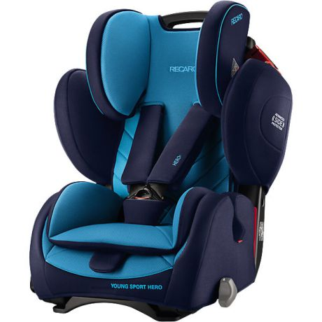 RECARO Автокресло RECARO Young Sport Hero, 9-36 кг, xenon blue