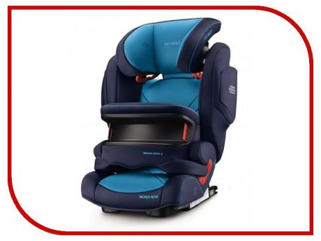 Автокресло Recaro Monza Nova is Seatfix Xenon Blue 6148.21504.66