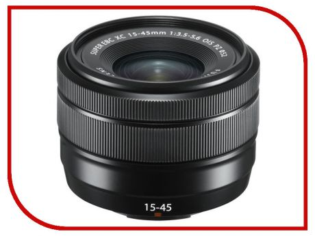 Объектив Fujifilm XC 15-45mm f/3.5-5.6 OIS PZ Black