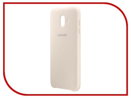Аксессуар Чехол-накладка Samsung Galaxy J4 2018 Dual Layer Cover Gold EF-PJ400CFEGRU