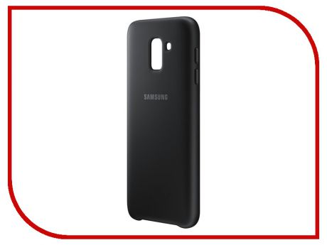 Аксессуар Чехол-накладка Samsung Galaxy J6 2018 Dual Layer Cover Black EF-PJ600CBEGRU