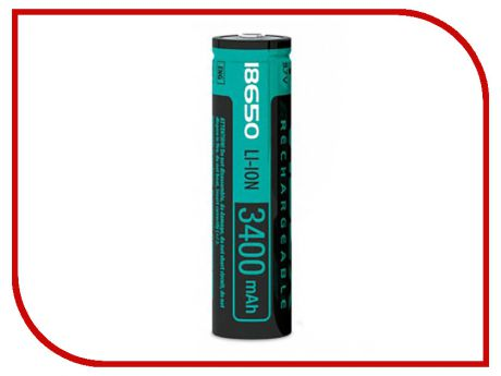 Аккумулятор Videx 18650 3400 mAh Li-ion VID-18650-3.4-WP