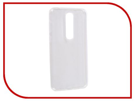 Аксессуар Чехол для Nokia 6.1 Plus 2018 Media Gadget Essential Clear Cover Transparent ECCN61P18TR