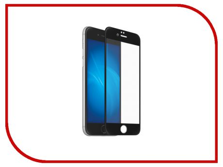 Аксессуар Защитное стекло Red Line Full Screen 3D Tempered Glass для APPLE iPhone 7 / 8 4.7 Black УТ000014072