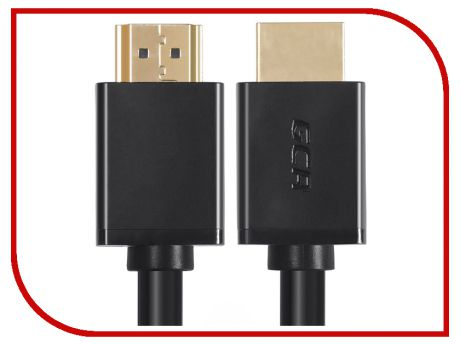 Аксессуар Greenconnect HDMI 0.3m Black GCR-HM451-0.3m