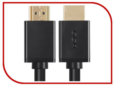 Аксессуар Greenconnect HDMI V2.0 0.5m Black GCR-HM411-0.5m