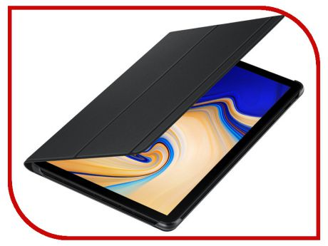 Аксессуар Чехол для Samsung Galaxy Tab S4 Book Cover Black EF-BT830PBEGRU