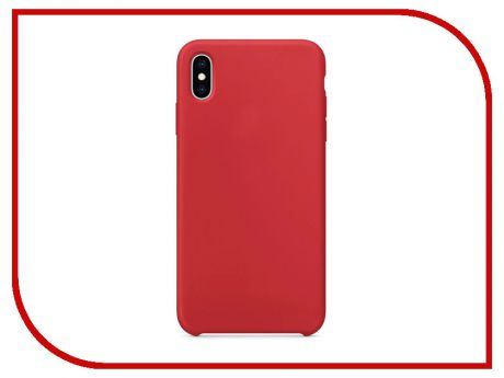 Аксессуар Чехол APPLE iPhone XS Max Silicone Case Product Red MRWH2ZM/A