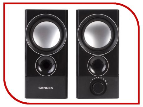 Колонка SONNEN CS-331 Black 512684