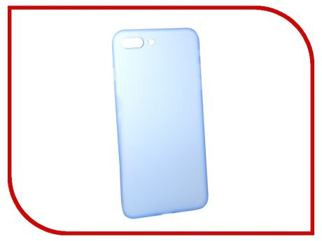 Аксессуар Чехол BROSCO Superslim для APPLE iPhone 7 Plus Blue IP7P-PP-SUPERSLIM-BLUE