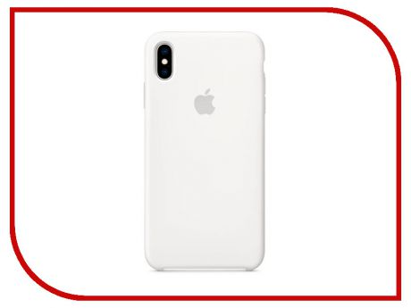 Аксессуар Чехол APPLE iPhone XS Max Silicone Case White MRWF2ZM/A