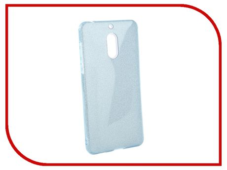 Аксессуар Чехол для Nokia 6 2018 Neypo Brilliant Light Blue Crystals NBRL5780